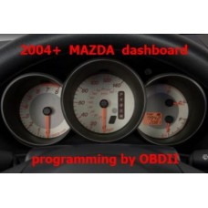 S7.43 All Mazda 2004 2010 with 93C56 EEPROM instrument clusters supported