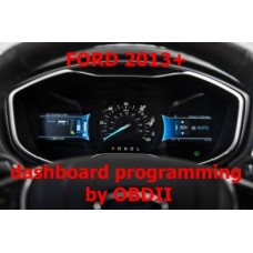 S7.39 Ford Ranger, Fusion dashboard programming 2013+ by OBDII