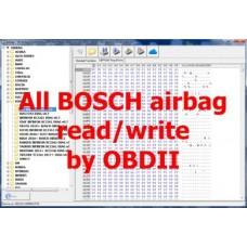 S5.52 Odczyt / Zapis modułów airbag by Bosch