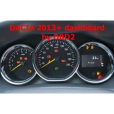 S7.41 Dacia 2013+ dashboard programming by OBDII